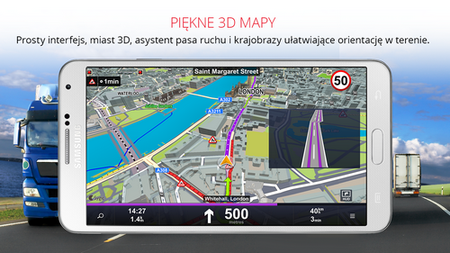 Sygic Truck GPS Navigation v13.7.4 build 135 (PL)
