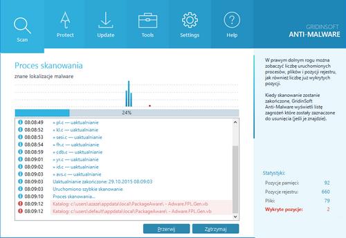 Gridinsoft Anti-Malware v3.0.81 Full (32/64) (PL)