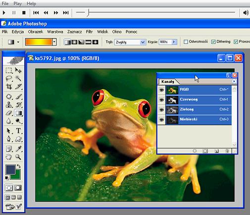 Photoshop zaawansowane techniki zaznaczania (PL)