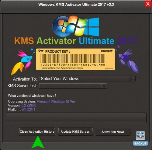Windows KMS Activator Ultimate 2017 v3.3