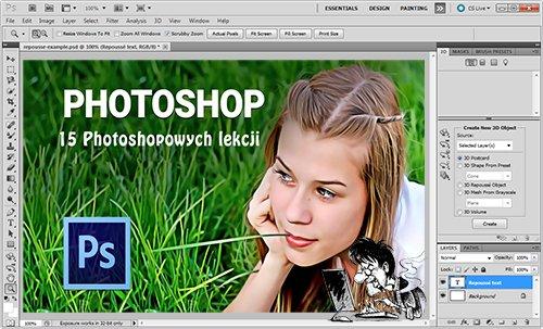 15 Photoshopowych lekcji (PL)